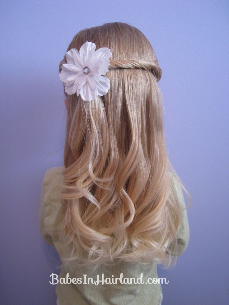 hidee, flower girl hair, @Sharon Wilson