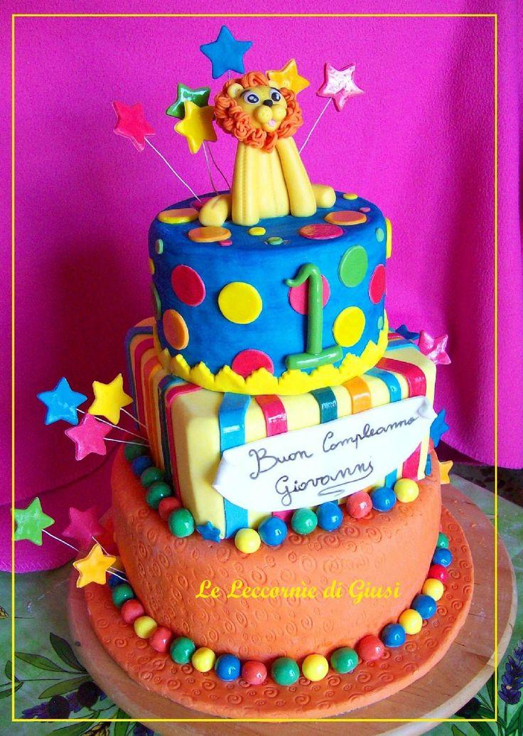 Giusi Vinci - Le Leccornìe di Giusi #cakedesign #circuscake #circo