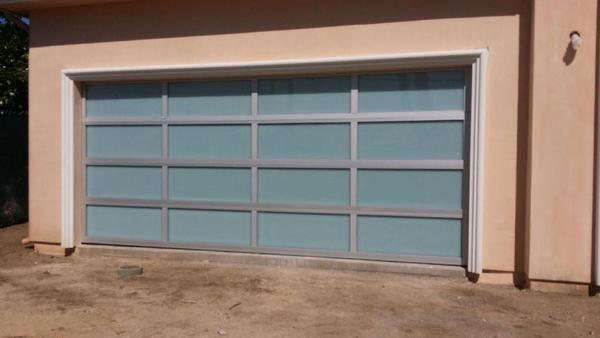 Contemporary Aluminum White Laminate Privacy Glass Garage Door Glass Garage Door Garage Doors White Laminate