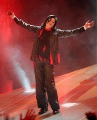 MJ doing the Earth song
