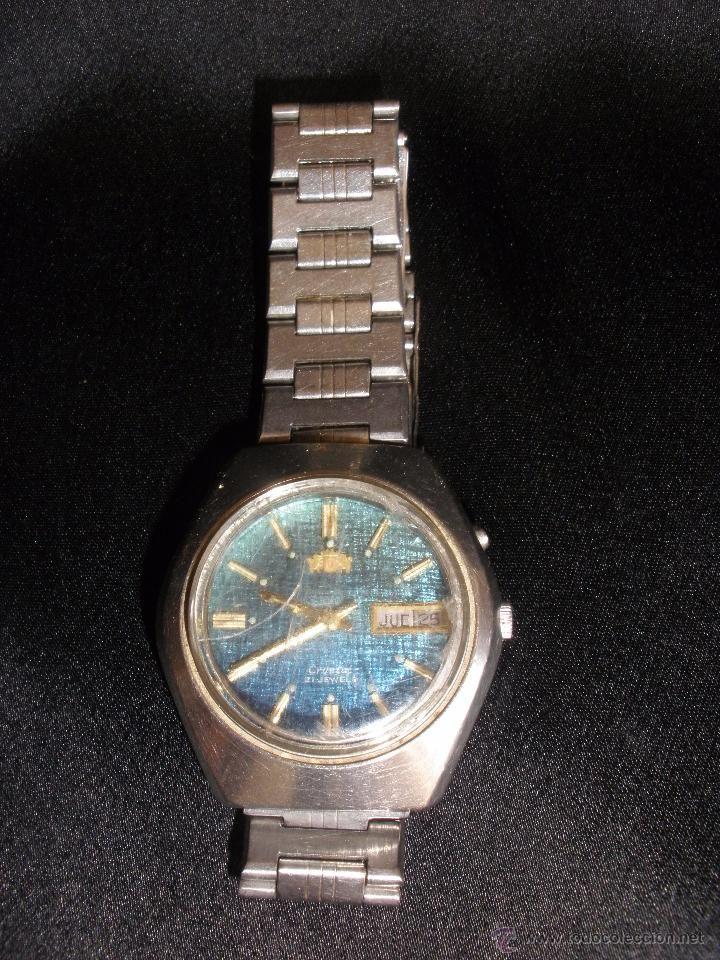ANTIGUO RELOJ ORIENT STAINLESS STEEL. Antiguo reloj  de hombre