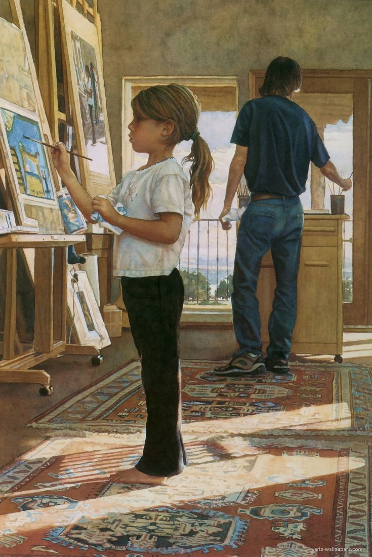 Renew watercolor artist magazine -  Side By Side Watercolour Painting By Steve Hanks Via Art Renewal Center