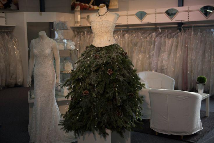 Weihnachtsbaumkleid DIY