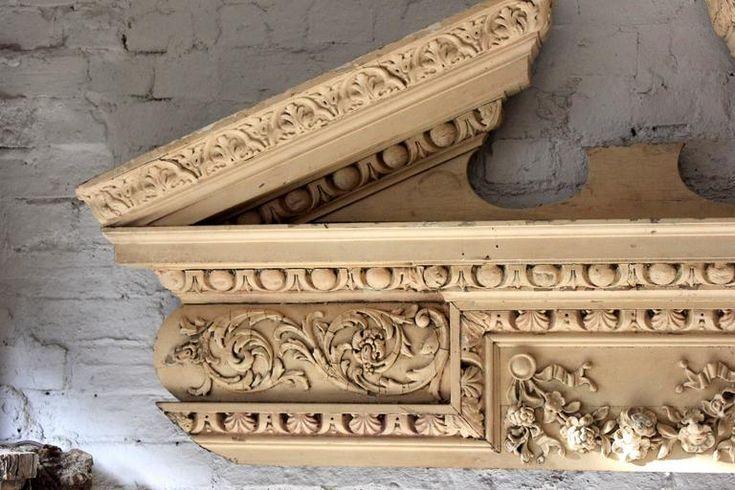 Bilderesultat for fine door mantel carvings