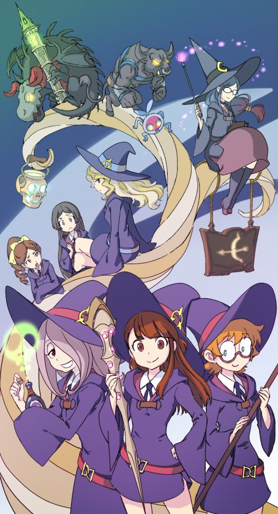 Little Witch Acedemia, Anime Witch Girl, Cartoon Roundup, Anime Girls, Anime Games Otaku 3, Character, Little Witch Academia Art