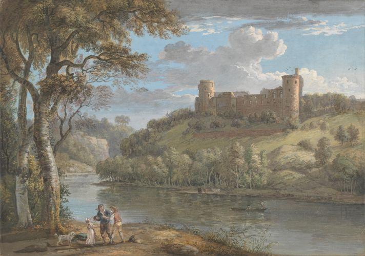 Bothwell Castle Aus Dem Suden Mit Bildern Landschaftsmalerei Kunst Malen