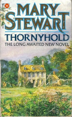 (#28) Thornyhold - Mary Stewart ★★★☆☆ // A gothic story with witchcraft and a hint of romance.  A young woman inherits her mysterious elderly cousin's house in the English countryside.