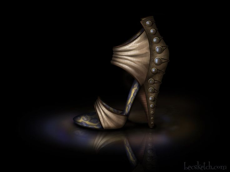 Jane Inspired Shoe - Disney Sole by becsketch on deviantART