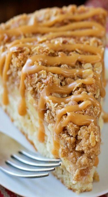 Apple Recipe | Apple crisp crumb cake