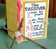 The Painted Door-  a hands-on way to teach kids the Passover story and what it means that Jesus is the Lamb of God