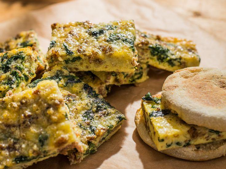 Breakfast Frittata Squares