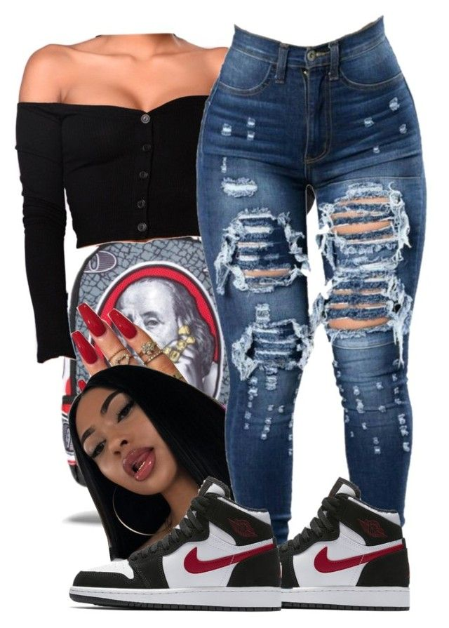 """""""Untitled #279"""" by lanadabest on Polyvore featuring Franklin and NIKE"""