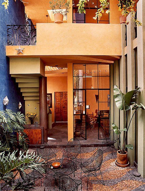 Casa De Las Estrellas Or U0027House Of The Starsu0027 Is A Modern Mexican Home