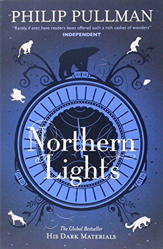 Northern Lights: His Dark Materials 1 by Philip Pullman http://www.amazon.co.uk/dp/1407130226/ref=cm_sw_r_pi_dp_0f0Wwb0X7YDYB