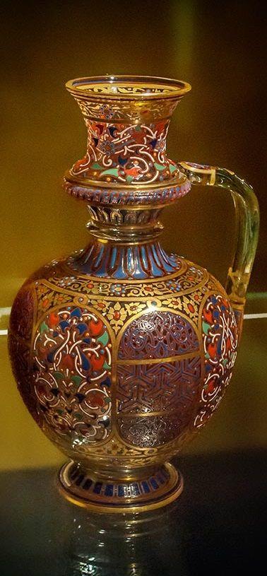 Arabian Series. Designed by Johann Machytka & Franz Schmoranz, after 1877.J & L Lobmeyr