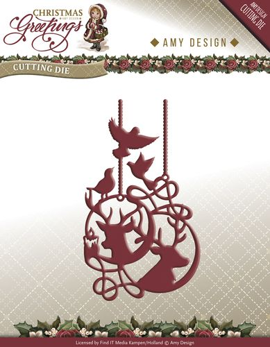 Amy Design CG ADD10069 Rendier Ornament