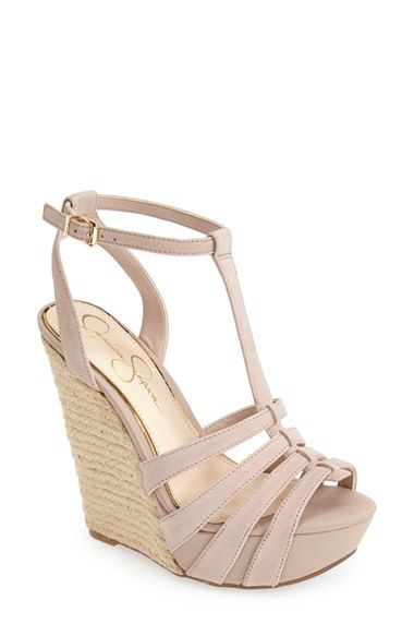 Jessica Simpson 'Bristol' Ankle Strap Platform Wedge Sandal (Women) | Nordstrom