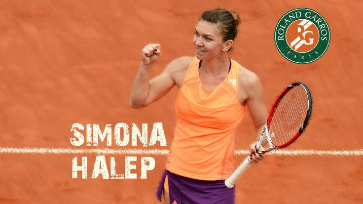 #4-Seed Simona Halep hoping to win her 1st Major Title at the 2014 Roland Garros. She will face #7-Seed Maria Sharapova, the 2012 French Open Champion, in the FINAL. 6/5/14