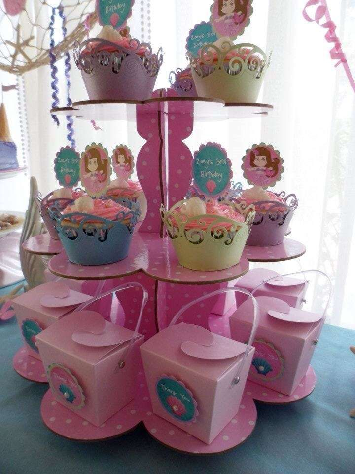 Mermaid Princess Party Birthday Party Ideas | Photo 2 of 12 | Catch My Party