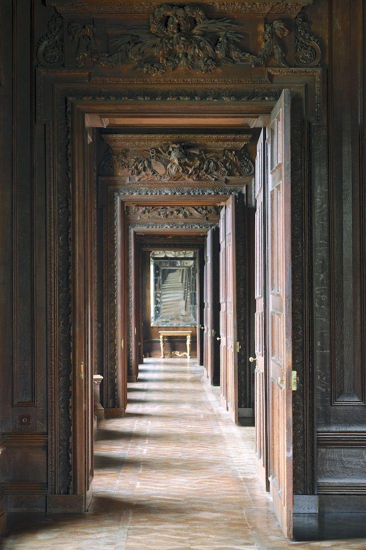 enfilade en pin fabulous enfilade pin massif portes. Black Bedroom Furniture Sets. Home Design Ideas