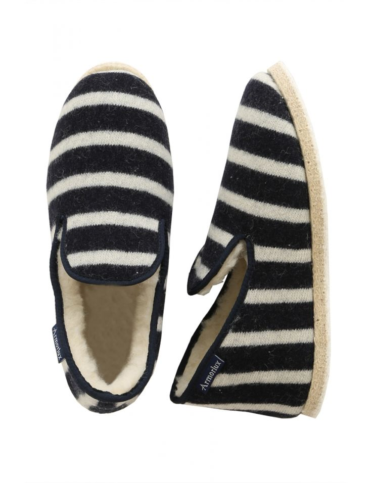 Striped slippers - Armorlux