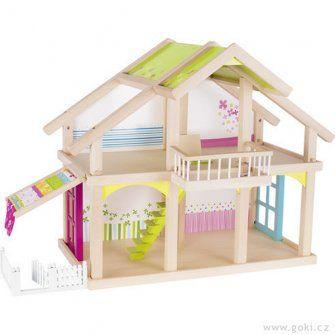 Goki 51588 - Puppenhaus Veranda Susibelle