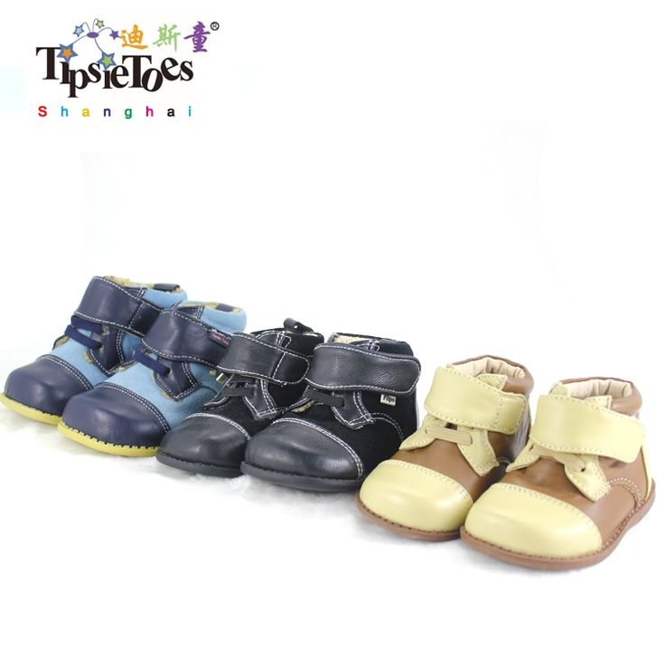 TipsieToes Brand High Quality Leather Stitching Kids Children Soft Boots School Shoes For Boys 2017 Autumn Winter 21403 – Buy it Now! #kidshopglobal #…