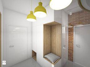 Wnętrza domu jednorodzinnego w Brzozowie - Hol / przedpokój, styl minimalistyczny - zdjęcie od MOJO pracownia projektowa