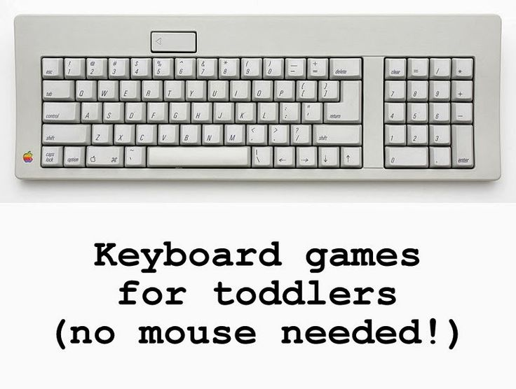 Be It Ever So Humble: Keyboard games for toddlers