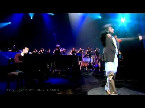 Live - Kanye West Heard Em Say Featuring John Legend Late Orchestration