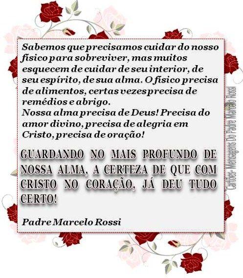 MENSAGEM DO PADRE MARCELO ROSSI: Cards