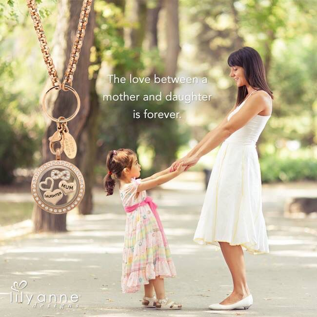 The love between a mother and daughter is forever. #LilyAnneDesigns #PersonalisedLockets #CapturingMoments #FreeToBeMe