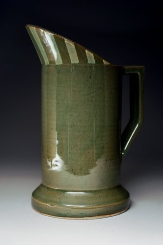 Ceramic pitcher by Patrick Yeung