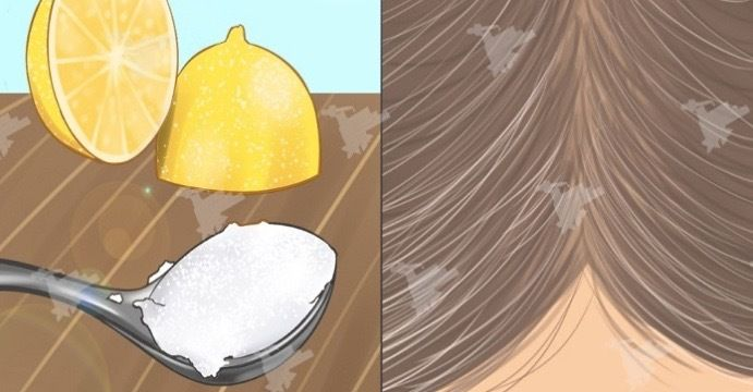 Kokosolja och citronblandning gör att grått hår får tillbaka till sin naturliga färg! OTROLIGT!