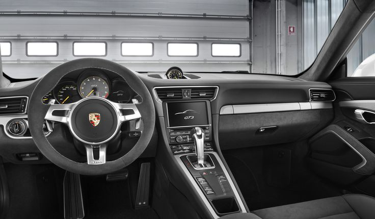 porsche 911 gt3 the interior of the new 911 gt3 is dominated by alcantara leather and interior parts in galvano silver as well as brushed alu
