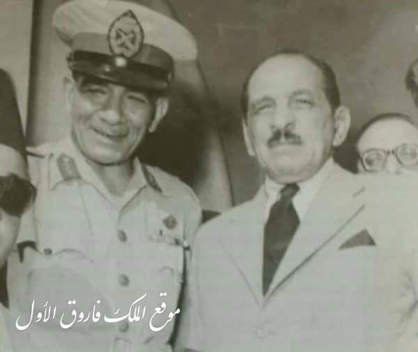 23 يوليو 1952 اللواء محمد نجيب أول رئيس للجمهورية و علي باشا ماهر أول رئيس للوزراء بعد 23 يوليو 1952 الصفحة الرسمية لموقع الملك فارو History Poster Egypt