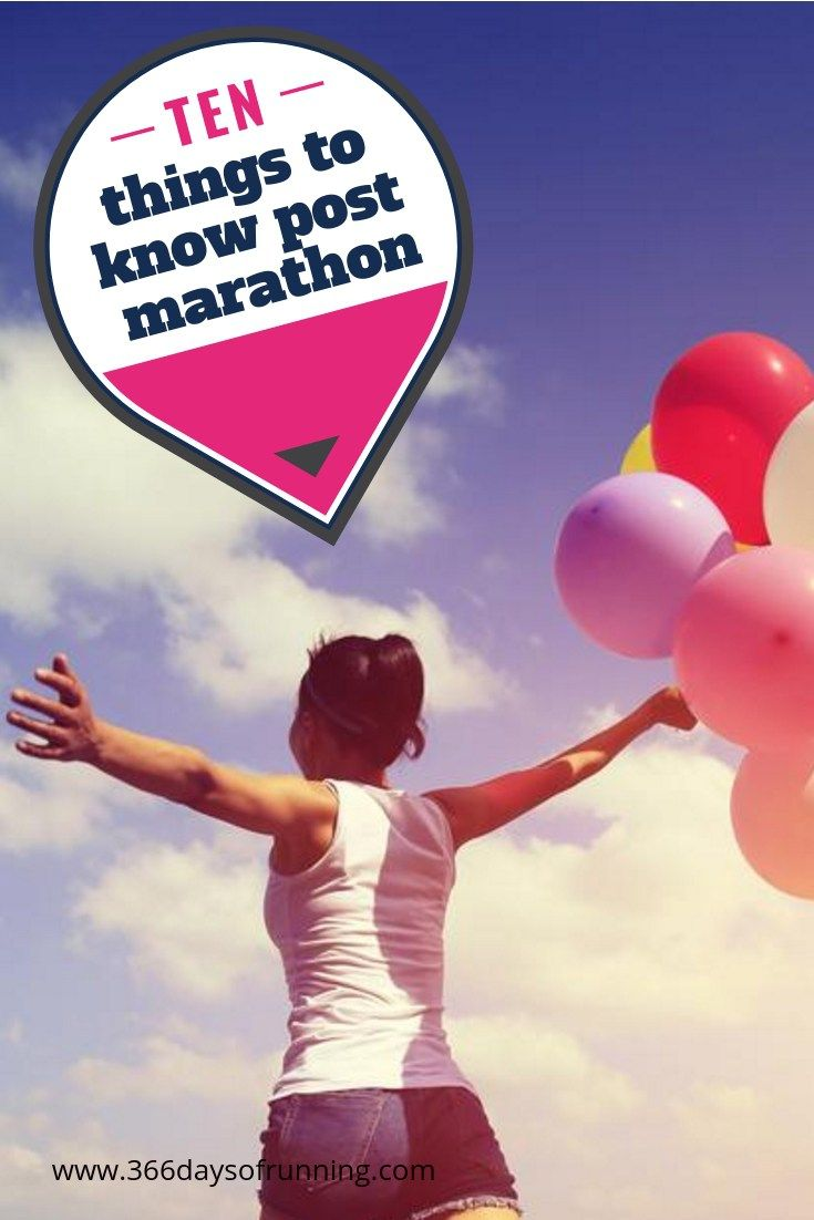 Post Marathon 10 Things To Know Post Marathon Running Fitness Health Runner Marathoner Mar Post Marathon Recovery Marathon Marathon Training Motivation