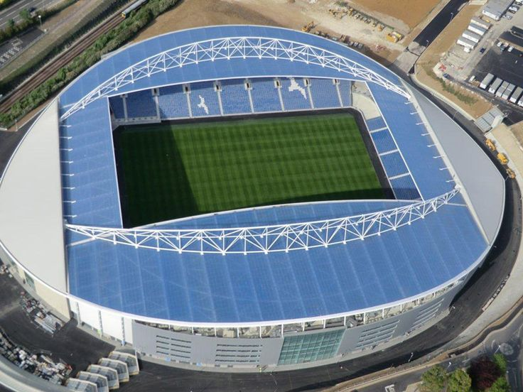 American Express Community Stadium, Hofe of Brighton & Hove Albion FC, Brighton, England. In short also called: AMEX Stadium