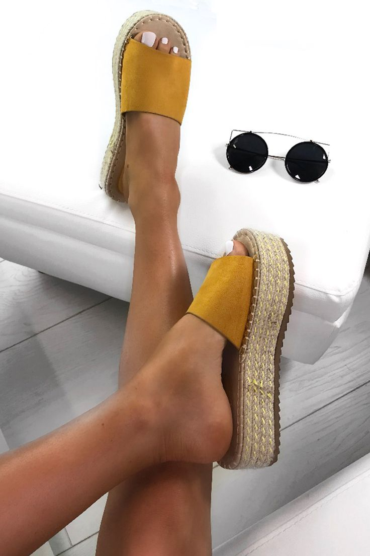 8d8db1ca79a3 Summer styling  with 🔎LUCY  holidayfashion  espadrilles  yellowespadrilles   sandals  holiday