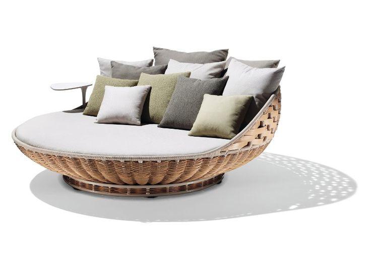 25 melhores ideias de cadeiras de vime no pinterest for Sofa exterior redondo