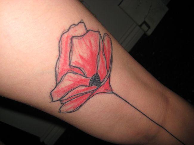 leg flower. Yann Black.: Color Flower, Black Tattoo, Di Google, Water Color, Ink Three, Ink Things, Google Recherch, Flower Tattoo, Beautiful Ink