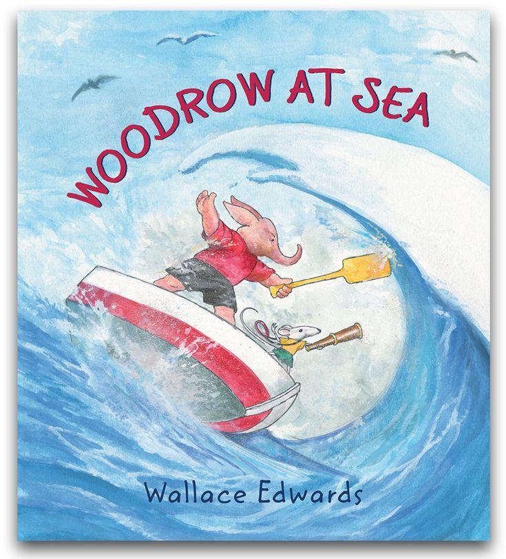 Woodrow at Sea by Wallace Edwards | CanLit for LittleCanadians review