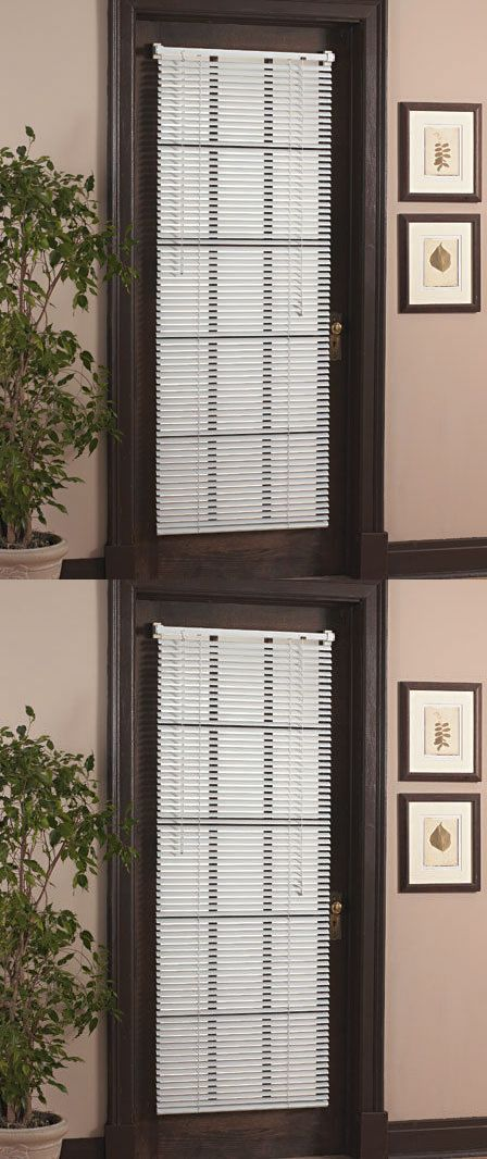 Blinds and Shades 20585: Magnetic Blind For Steel Door Window Vinyl Mini Blind Curtain Magnet Shade 25X68 -> BUY IT NOW ONLY: $37.3 on eBay!