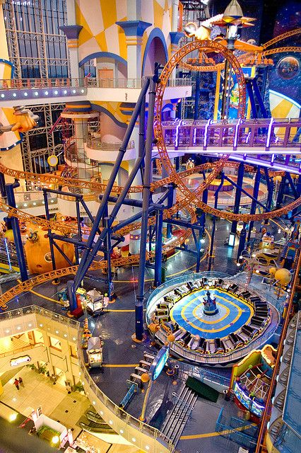 Berjaya Times Square Theme Park, KL, Its ok to take your kids to a Malaysian theme park, right? Its cultural, right?