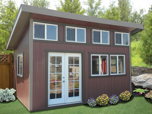 Slant Roof Shed By Better Built Barns Holiday Decorating