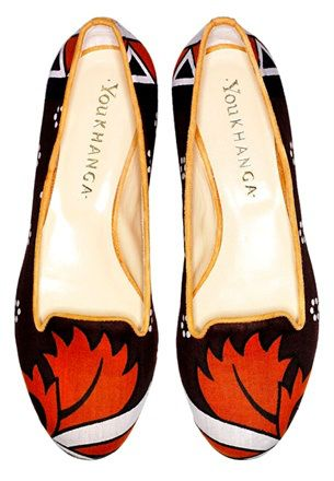 One-of-a-kind ballet flats by You Khanga – Italian Quality and African Culture