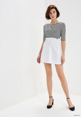 70e109911 Faldas Blancas Cortas   Faldas en 2019   Faldas, Faldas blancas y Moda