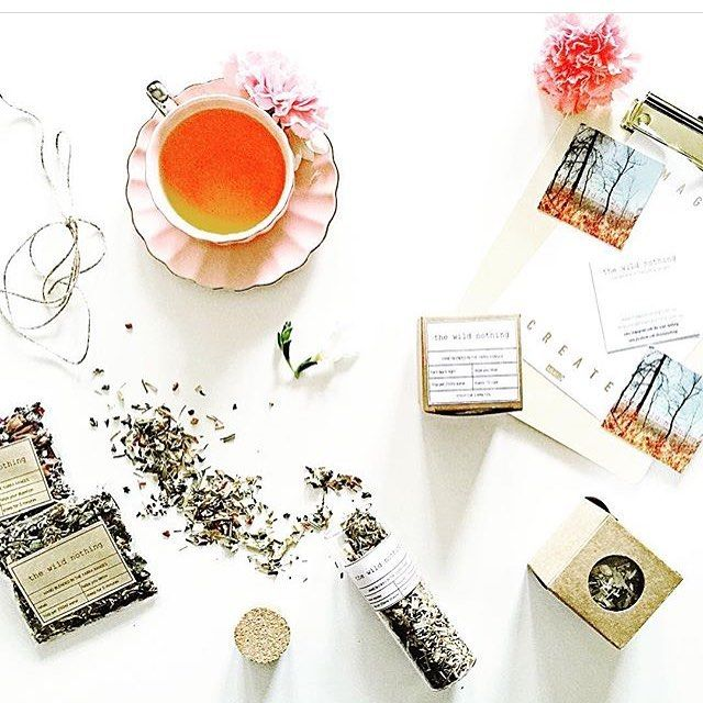 Happy Wednesday!! Hope you're feeling sprightly this morning. I need some of this good stuff to get me going. Photo by @thestylistsplash  #tealover #teaaddict #teasofinstagram #instatea #tisanes #thewildnothing #handmade #handblended #madeinmelbourne #madeinaustralia #australianmade #onlineshop #shopsmall #shoplocal #smallbusiness #instalike #instagood #flatlay #brandstylist #thestylistsplash #pretty #lovely #delicious #teas #thehandmadeparade @thehandmadeparade