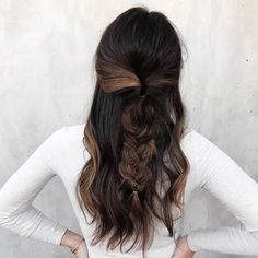Best HairStyles For 2017/ 2018   an easy weekend hairstyle