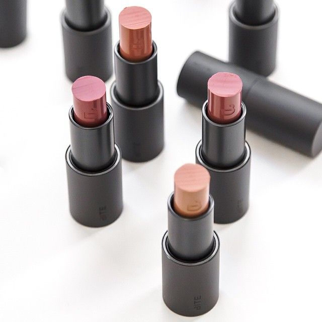 Creamy, dreamy, nourishing nudes: the Bite Beauty Butter Cream Lipsticks are individually hand cut to provide a luscious treat for your pout.